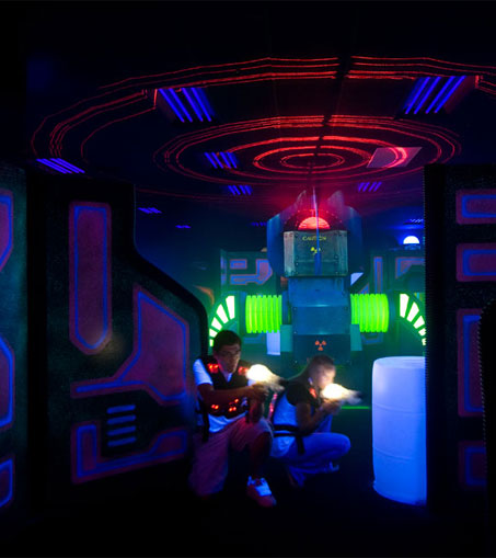 We've got the best laser tag in town